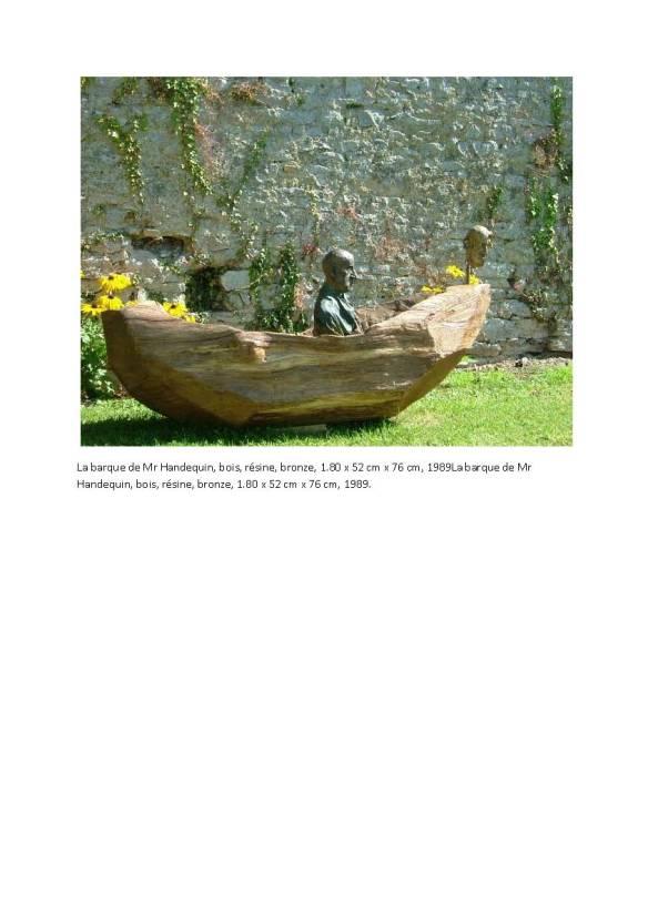 La barque de Mr Handequin