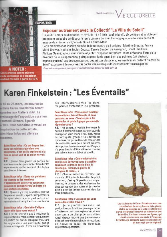 St-Maur Infos mars 2012 n° 35